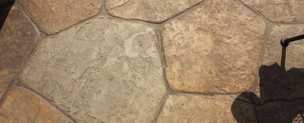 Patio Stone Type Stamped Concrete Frisco