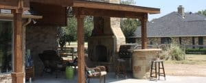 outdoor_fireplace_dallas_tx_platinum_fence_and_patio